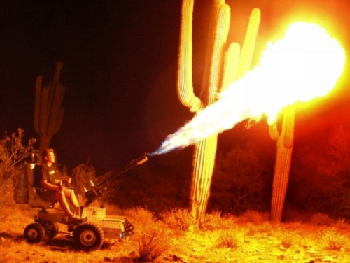 wheelchair-flamethrower